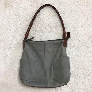 Sundance Simplicity Slouch Leather Shoulder Bag